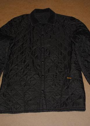 Barbour стеганая куртка стеганка барбур коричневая