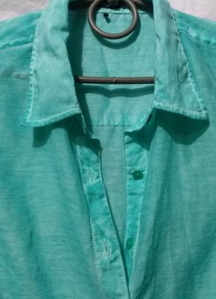Сорочка olsen насичений колір