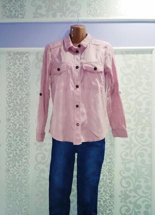 Симптичная рубашка пудра