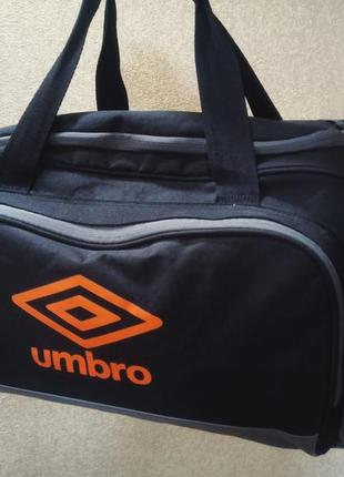 Спортивная сумка umbro. сумка для тренировок умбро. 35 литров. рюкзак