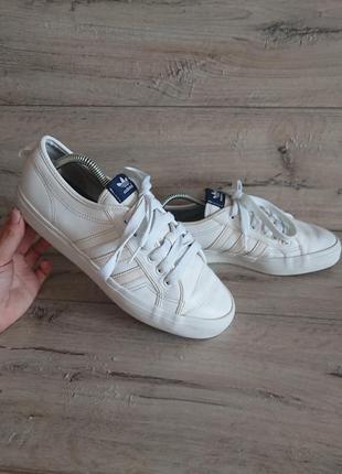 Кроссовки адидас adidas nizza 43 1/3 р 9 р 27,5 см кожа