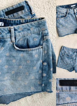 Классные шорты в горох идеал м
