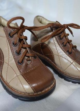Ботинки сапоги кожаные 19 размер италия
