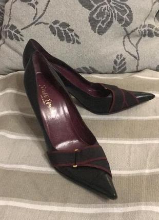 Туфли кожаные ernesto esposito италия!