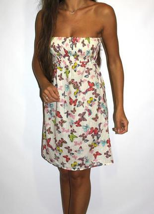 Платье в бабочках, фирма accessorize — срочная уценка товара —