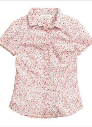 Летняя рубашка в стиле кежуал