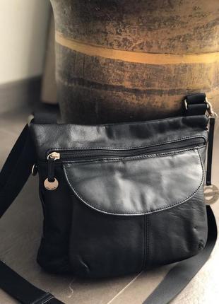 Кожаная сумка 100% натуральная кожа