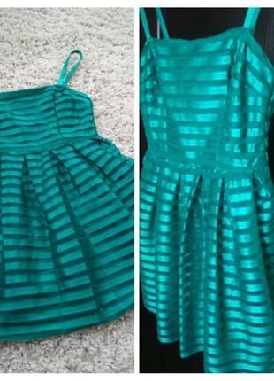 Стильное яркое платье,h&m, p 6-8