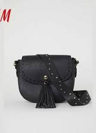 Маленькая супер-стильная сумочка клатч через плечо h&m