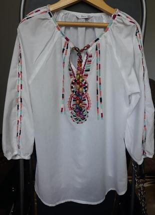 Блуза вышиванка индия
