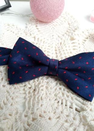 Шелковый галстук-бабочка1 фото