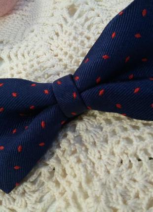 Шелковый галстук-бабочка2 фото