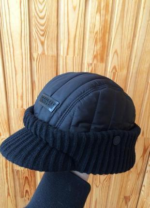 Burberry очень крутая нейлоновая шапка