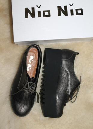 Закрытые туфли на платформе, сникерсы, криперы, лоферы, оксфорды, размер 37, англия4