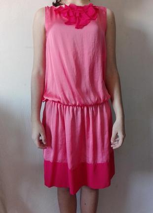 Платье  stile benetton розовое
