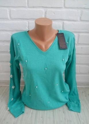 Тоненький трикотажный свитерок#молодежный джемпер#красивый свитер