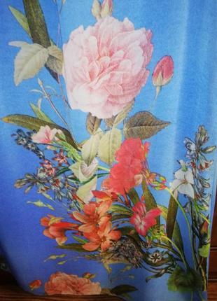 Красочно-воздушное шифоновое платье dorothy perkins, р. 42/xl/504 фото