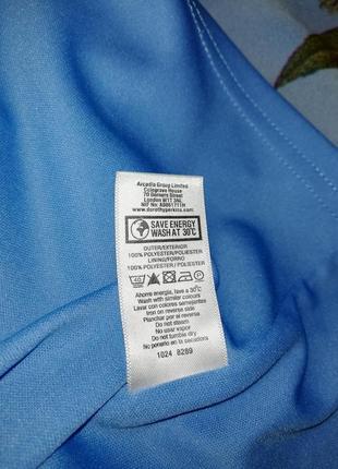 Красочно-воздушное шифоновое платье dorothy perkins, р. 42/xl/509 фото