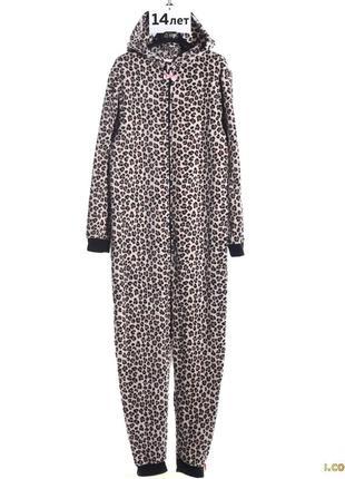 Пижама леопард оригинал h&m