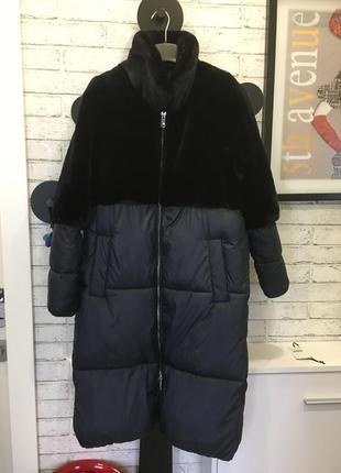 Пальто mango коллекция осень-зима 2018 года оверсайз