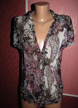 Блуза р-р 14-хл бренд mexx