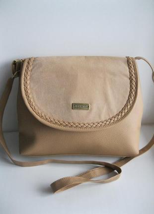 Фірмова французька сумка кросбоді ted lapidus