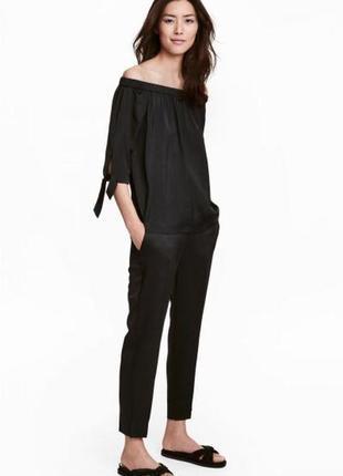 Оригинальные брюки-слаксы от бренда h&m разм. 40