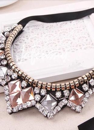 Шикарное ожерелье воротник колье чокер