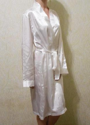 Белый сексуальный эротический халат для дома