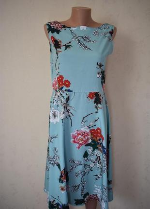 Легкое платье с принтом