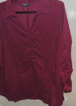 Натуральная хлопковая рубашка yessica xl