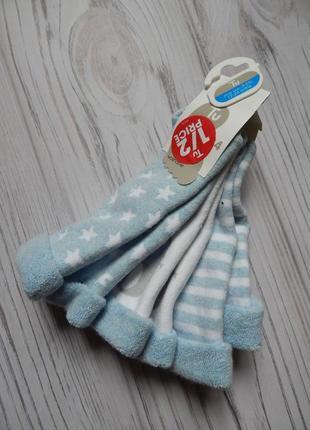 Теплые, махровые носки от фирмы tu.  возраст 1.5-2года