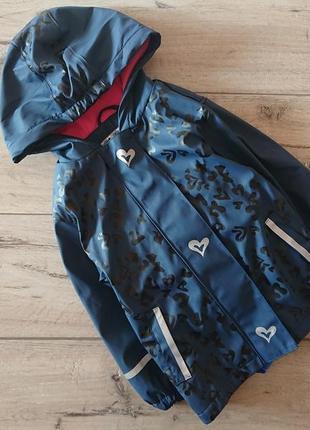 Куртка дождевик непромокайка лупилу lupilu 2-4 года 98-104 см