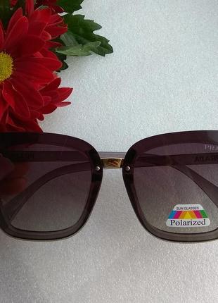 New 2019! новые солнцезащитные очки с поляризацией, кофейные