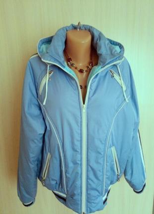 Шикарная утепленная куртка   р. 50/52 ф. sodis