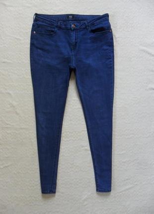Стильные джинсы скинни f&f, 14 размер.