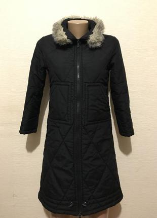 Тёплый пуховик пальто на синтепоновом утеплителе на подростка