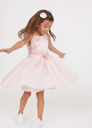 Шикарное платье h&m новое с бирками 140см 9-10лет2