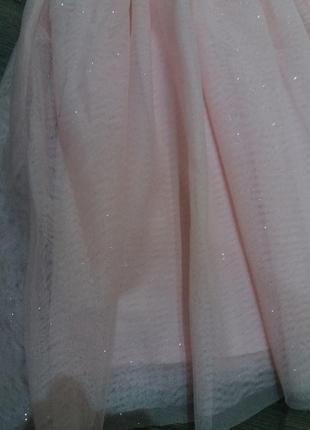 Шикарное платье h&m новое с бирками 140см 9-10лет6