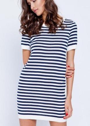Круизная коллекция платье туника вязаный хлопок
