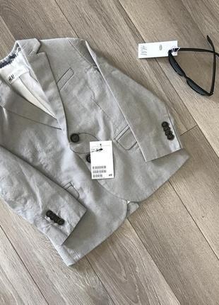 Пиджак для мальчика оригинал h&m