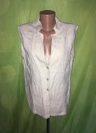 Блуза жакет лен 50 р