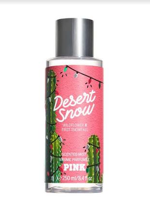Мист парфюмированный спрей для тела desert snow pink от victorias secret виктория сикрет