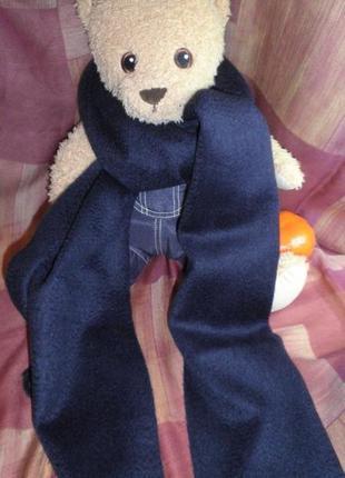 Теплый мягкий легкий шарф натуральный cashmere кашмир 180х31см качество