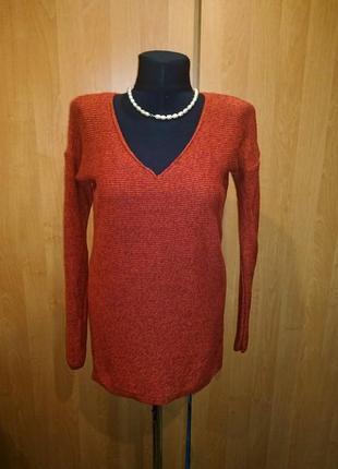 Пуловер 46 old navy кирпичного цвета