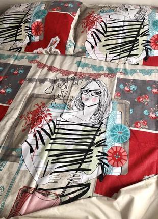 Комплект постельного белья для девочек полуторка