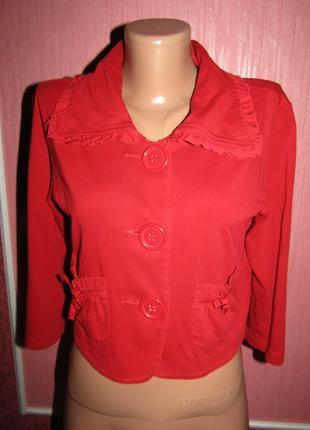 Укороченный пиджак р-р 38-12 бренд street one
