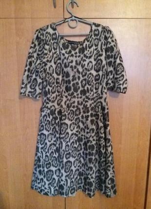 Осенне-весеннее платье 42-44 размер