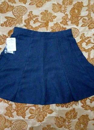 Замшевая красивая юбка. размер 96 (м)