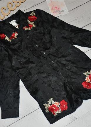 Мего модный ромпер вышивка h&m1